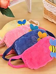 Lovely Bee Pattern Fleece Anti-Dust Winter Thermal Children Respirator Face Masks Health Gauze Mask (Random Color)
