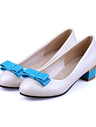 Girls' Shoes Casual Round Toe  Flats Blue/Pink/White