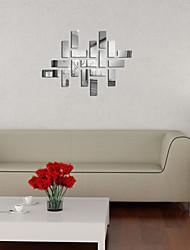 Mirror Wall Stickers Wall Decals, Geometry DIY Mirror Acrylic Wall Stickers
