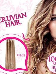 Piano Color Tape in Hair/ Skin Weft/ PU Weft 100% Peruvian Remy Human Hair Ty.Hermenlisa