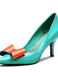 Women's Shoes Komanic Leather Stiletto Heel Pointed Toe Pumps Shoes Dress More Colors available