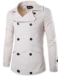 JACK-BOY Men's Crew Neck Coats & Jackets , Organic Cotton Long Sleeve Casual JACK-BOY