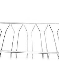 aço inoxidável pendurado copo de vinho rack de titular rack de armazenamento taça taça de vinho (cinco linha)