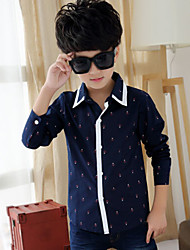 Boy's Korean Version Of The New Big Virgin Shirt (Cotton)