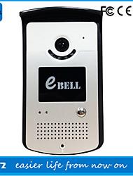 One to One interphone vidéo ( Aluminium ) Sans fil - Système Mains-Libres