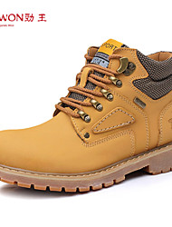 Men's Shoes Outdoor/Casual Leather Boots Brown/Yellow/Tan
