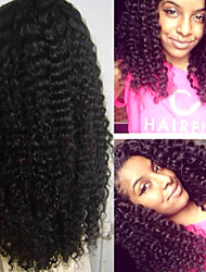 """Glueless lace Front Wigs For Black Women Vrigin Hair Products Mongolian Kinky Curly Lace Front Human Hair Wigs 8""""-24"""""""