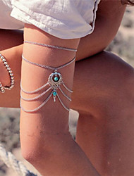 Casual Alloy Link/Chain/Stacked Bracelet