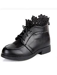 Botas ( Negro/Rojo ) - Comfort - Semicuero