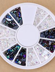 1 - Bijoux pour ongles/Autre décorations - Doigt/Orteil - en Abstrait/Adorable/Punk/Mariage - 5.5*5.5*0.5