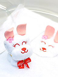 Folded Bunny Boxed Hand Towel 1Pack Birthday Easter Party Xmas Gift (Random Color)