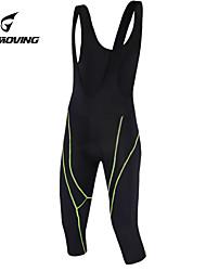 GETMOVING Fahrradträgerhosen Unisex Fahhrad Bib - Shorts/Kurze radhose MIT Trägern Shorts/Laufshorts Gepolsterte ShortsAtmungsaktiv