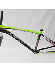 "MB-NT02+FK-NT19 Neasty Brand  Full Carbon Fiber Light Green Color Decal 26er MTB Frame and Fork 15""/17"""
