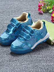 Child  Shoes Outdoor/Casual Canvas Fashion Sneakers Blue/Red/Silver/Gold