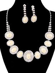 jóias de cobre prata moda longa queda totalmente strass estabeleceu 20