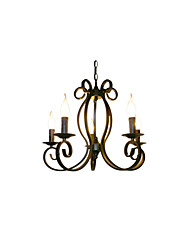 BOXOMIYA® Bohemia European Style Chandelier Lamp Simple Personalized Living Room Bedroom Garden Restaurant Tieyi Lighting