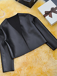Holly Women's Casual Coats & Jackets (Faux Leather)