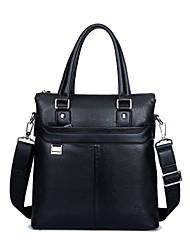 dos homens pu / casual / formal de escritório&carreira / professioanl usa sacos de ombro / totes - marrom / preta