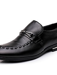 2015 New Fashion Hot Sale Men's Shoes Office & Career/Casual Leahter Oxfords Black