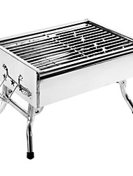 Desktop Dual Grill Home Outdoor Portable Removable Carbon Oven