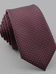 SKTEJOAN® Men's Korean Business Occupation Lattice Narrow Ties (Width: 6CM)