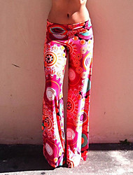 VOV     Women's Pants , Polyester Sexy/Beach/Casual/Print VOV