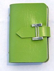 Unisex PU Professioanl Use Card & ID Holder - Blue / Green / Brown