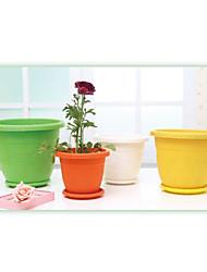 """shengerda 8.8 """"colorido roma Yiwu mini-vaso de plástico, seis vasos de flores para um conjunto"""