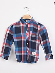 Polyester - Zomer/Lente - Boy's - Overhemd - Lange mouw