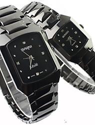 Couple's Watch Fashion Dress Watch Alloy Band