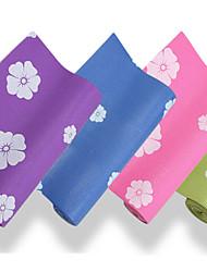 Baotao ® 6mm Yoga Mats Sticky Waterproof Plum Blossom BT45