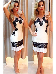 Women's Sexy/Bodycon/Beach/Casual/Cute/Party/Work Dresses (Cotton)