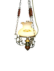 BOXOMIYA® Bohemia Lamps And Lanterns American Rural Classical Garden Style Garden Led Bed Lighting