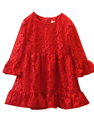 Kid's Vintage/Cute/Party Dress (Acrylic/Mesh)