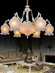 Chandeliers White 220V European Retro Classic