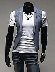 Men's Sleeveless Vest , Cotton Work Pure