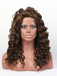 In Stock #618 Color 18inchLong Body Wave Synthetic Wigs,Lace Front Wig