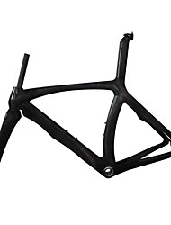 NEASTY Cadre pour la route Entièrement en carbone Cyclisme Cadre 700C Brillant Éclat UD 425/445/465/505/515 cm XXS/XS/S/M/L pouce