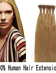 18 Zoll Keratin Stockspitze / i Spitze 0,5 g / s malaysische menschliche Haarverlängerungen 14 Farben für Frauen Schönheit