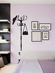 Wall Stickers Wall Decals Style Coat Hanger PVC Wall Stickers