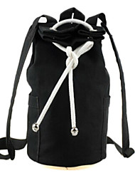 Unisex 's Canvas Backpack - Green/Black