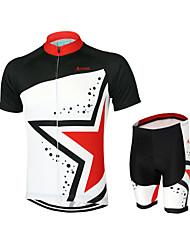 Clothing Sets/Suits Bike Breathable / Quick Dry / Anatomic Design / YKK Zipper / Back Pocket Unisex Polyester / Elastane