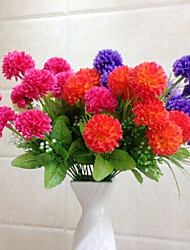 High Quality Artificial Flowers for Home Decoration Bright Color Flower Ball for Wedding Bouquet Holiday Decorations