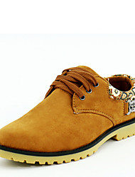 Men's Outdoor Shoes Casual Suede Oxfords Shoes Fashion Men Shoes
