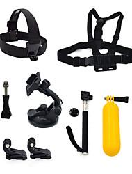 ourspop gp-K24 8-in-1 kit di accessori per GoPro eroe 4 3 + / 3/2/1 telecamera