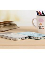 bateria externa de cristal cisne 5000mAh Banco de alimentação multi-saída para iphone6 / samsung Nota4 e outros dispositivos móveis