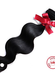 "EVET 1pc 8""-22"" Peruvian Virgin Hair Unprocessed Human Hair Natural Color Body Wave"