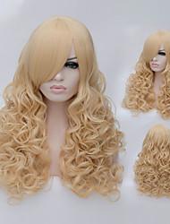 a bela de alta qualidade a alta temperatura de seda moda menina vai preparar uma peruca