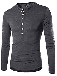 loser Men's Casual Long Sleeve T-Shirts