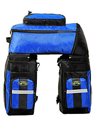 Sacoches & rack Tronc/Etuis de Sac ( Vert/Bleu , Nylon/Grille/Matériaux Etanches/Polyester 300D , 70L )Etanche/Séchage rapide/Bande